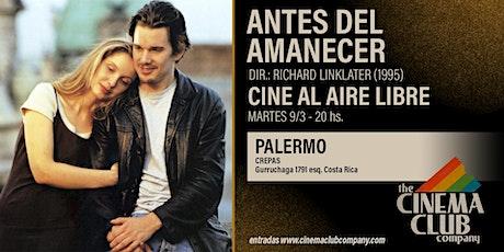 CINE AL AIRE LIBRE - ANTES DEL AMANECER (1995) - Martes 9/3 entradas