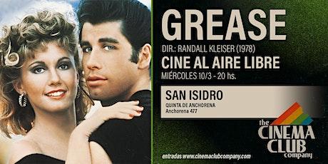 CINE AL AIRE LIBRE - GREASE (1978) - Miercoles 10/3 entradas