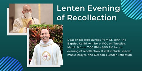 Lenten Evening of Recollection (7:00 PM) tickets