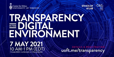 Transparency in the Digital Environment entradas