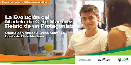La Evolución del Modelo de Café Martínez: Relato de un Protagonista entradas
