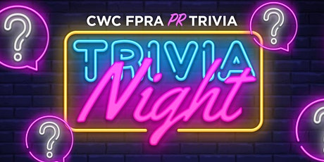 CWC FPRA Trivia Night tickets