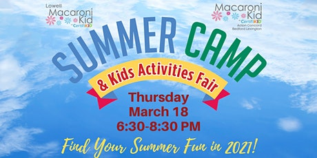 Summer Camp & Kids Activities Fair entradas