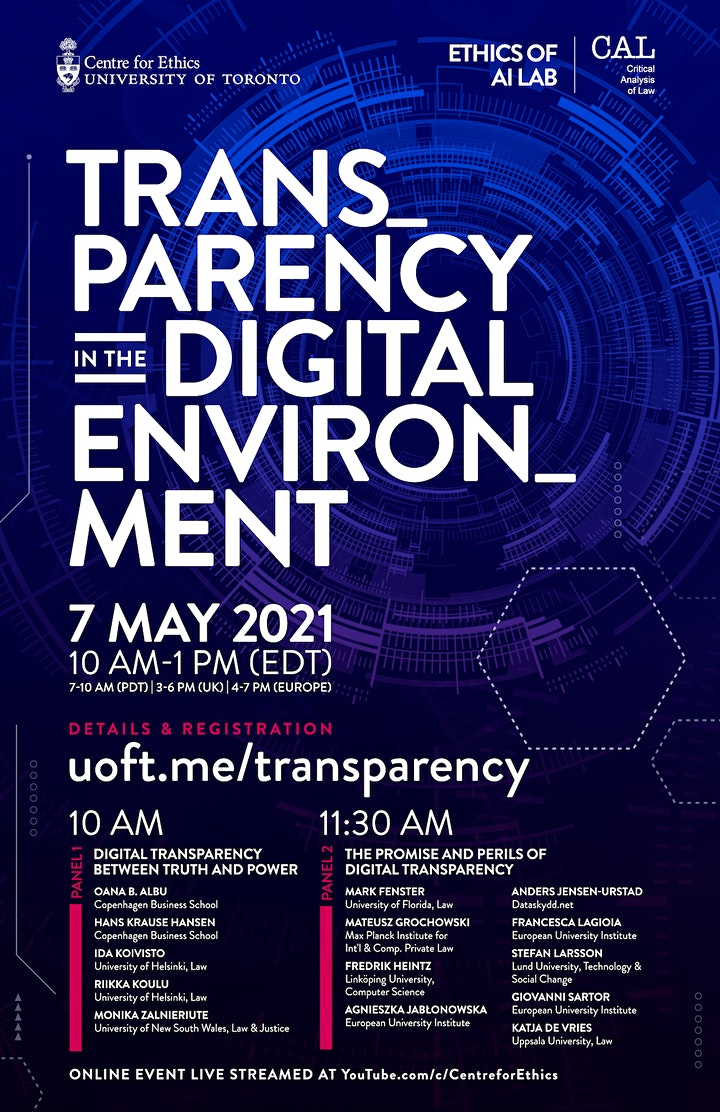 Transparency in the Digital Environment image