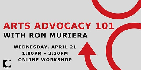 Arts Advocacy 101 tickets