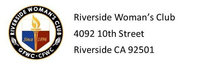 "Riverside Woman's Club Bingo - Facebook ""LIVE"" Bingo image"