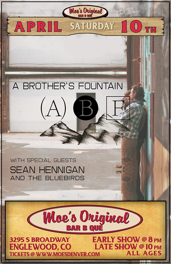 A Brother's Fountain (Late Show - 10pm) w/ Sean Hennigan (Early Show-8pm) image