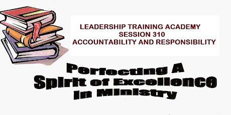 LTA Seminar 310 Accountability and Responsibility tickets