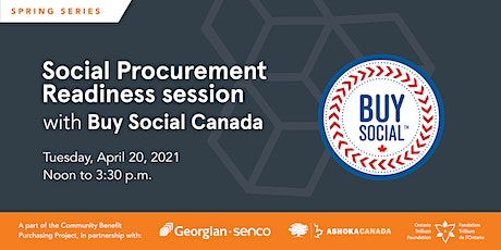 Social Procurement Readiness with Buy Social Canada tickets
