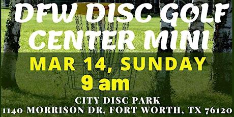 DFW Disc Golf Center Mini Tournament tickets