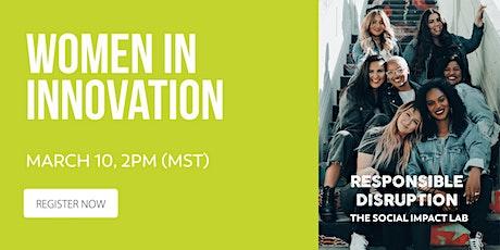 Women In Innovation tickets