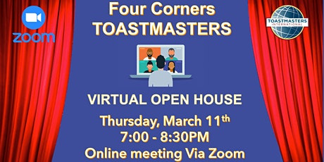 OPEN HOUSE: Four Corners Toastmasters tickets