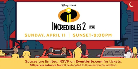 Drive-In Movie Featuring The Incredibles 2 tickets