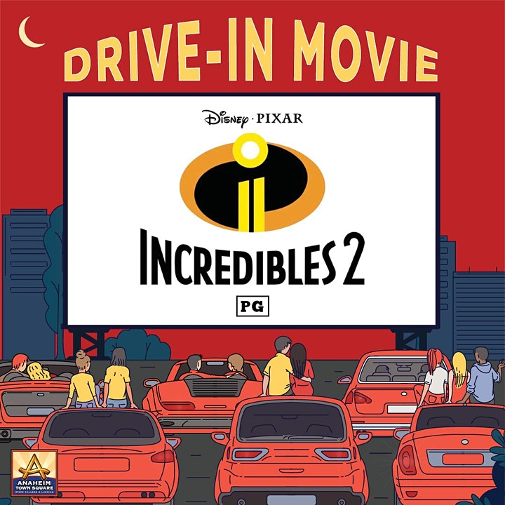 Drive-In Movie Featuring The Incredibles 2 image