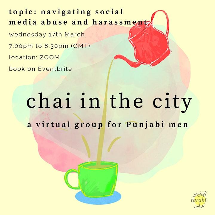 Open Group for Punjabi Men: Navigating Social media Abuse and Harassment image