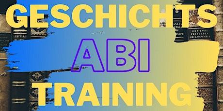 Abi-Training Geschichte Schnellkurs Tickets