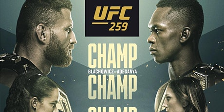 UFC 259: Blachowicz vs Adesanya tickets