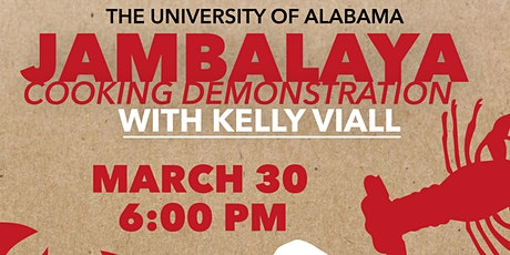 Jambalaya Cooking Demonstration with Local Chef Kelly Viall tickets