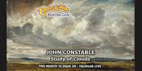 Facebook LIVE - Paint CONSTABLE - 'Study of Clouds' tickets