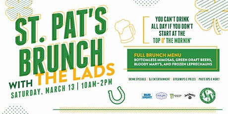 St. Pat's Brunch with the Lad's tickets