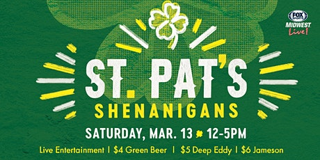 St. Pat's Shenanigans at FOX Sports Midwest Live! tickets