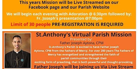 St.Anthony's Virtual Parish Mission tickets