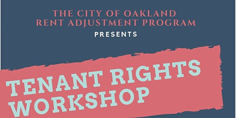 Tenant Rights Workshop tickets