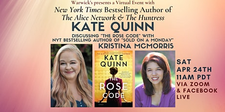 Kate Quinn discussing  THE ROSE CODE w/Kristina McMorris tickets