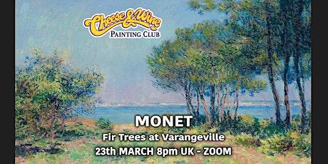 Paint MONET - 'Fir Trees at Varangeville' - ZOOM class tickets