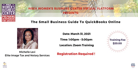 The Small Business Guide To QuickBooks Online tickets