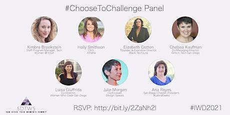 SDTWS International Women's Day #ChooseToChallenge Panel tickets