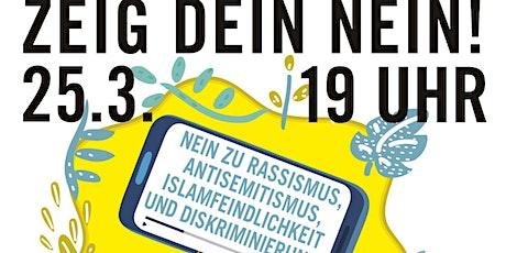 ZEIG DEIN NEIN! 2021 - Online-Preisverleihung Clip-Wettbewerb Tickets