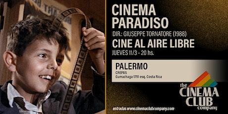 CINE AL AIRE LIBRE -CINEMA PARADISO (1988) - Jueves 11/3 entradas