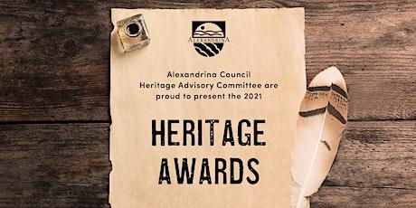 Alexandrina Council Heritage Awards 2021 tickets