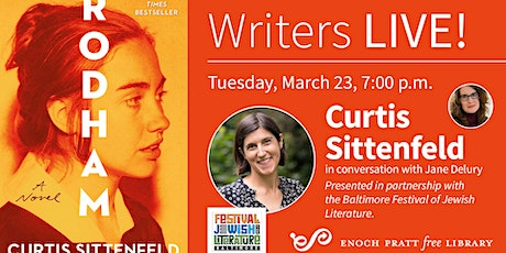 Writers LIVE! Curtis Sittenfeld tickets