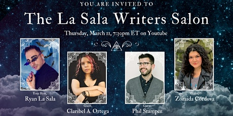 The La Sala Writers Salon - Inaugural Event! tickets