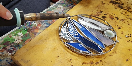 Stained Glass Garden Sculpture Workshop - Flowers- 5.1.21 tickets
