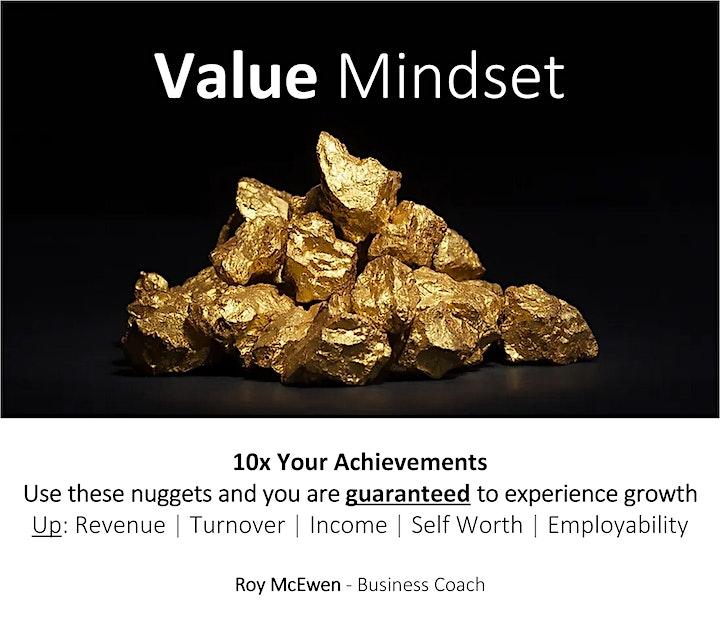 Value Mindset Webinar image