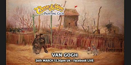 Paint VAN GOGH - 'Rue a Montmartre' - Facebook LIVE tickets
