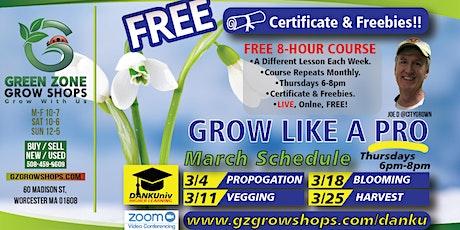 Grow Like a Pro **Propagation** FREE Workshops! tickets