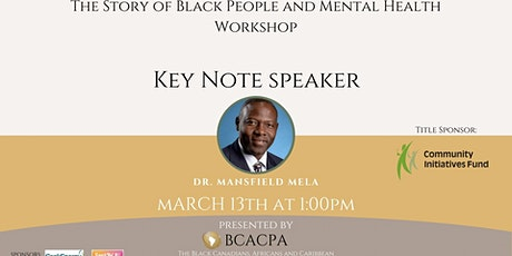 The Story of Black People and Mental Health Workshop tickets