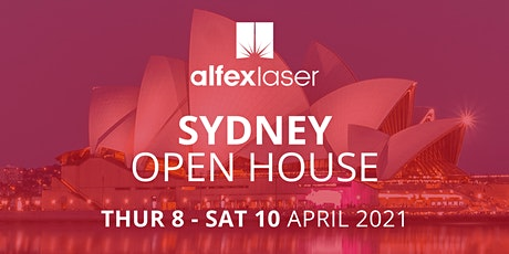 Alfex Laser Open House 2021 - Sydney tickets
