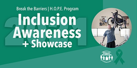 Inclusion Awareness + Showcase tickets