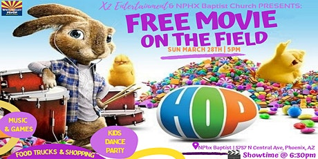 A FREE Easter PopUP Movie on the Field, Food Trucks and More - Sun 3/28 tickets