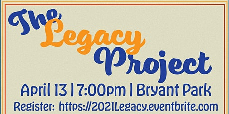 The Legacy Project 2021 tickets