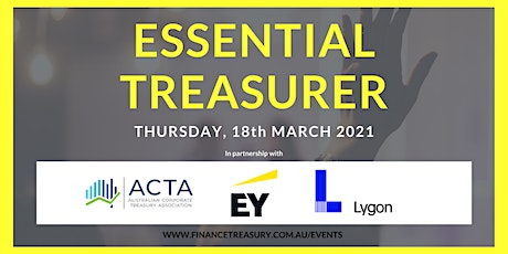 Essential Treasurer 2021 tickets