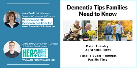 Dementia Tips Families Need To Know tickets