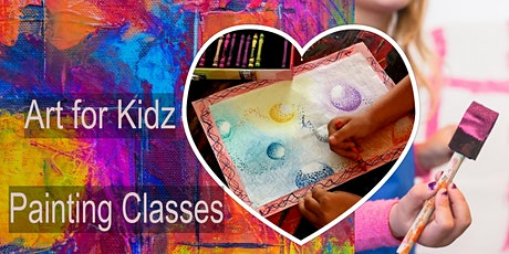 After School Painting Classes - 9 week Course  (Kids age 6-11) tickets