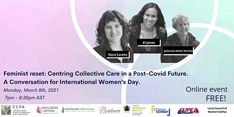 Feminist Reset: Centring Collective Care in a Post-Covid Future tickets