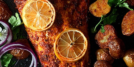 Tandoori Fish and Spiced Potatoes Cook-Along tickets